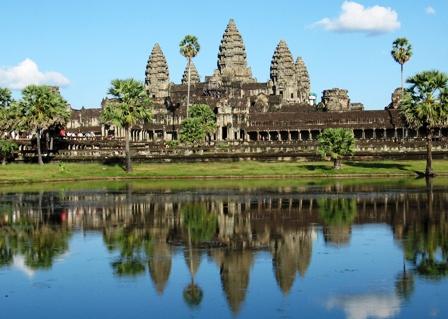 Voyagez seul à la cité d'Angkor au Cambodge