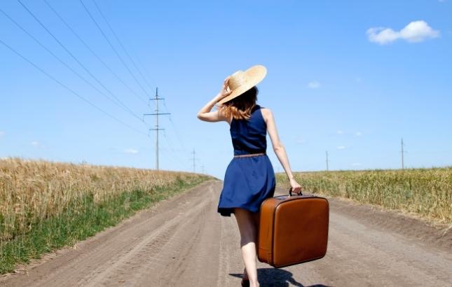 femme voyage solo