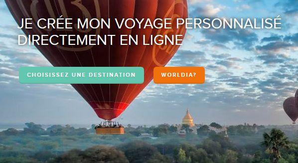 worldia voyage personalise